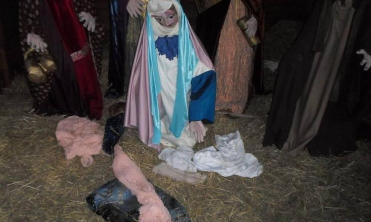 Έκλεψαν το «Θείο Βρέφος» στην Πάτρα (pics)