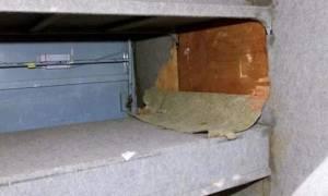 Φυγόδικος κρυβόταν σε κρύπτη στην κρεβατοκάμαρά του