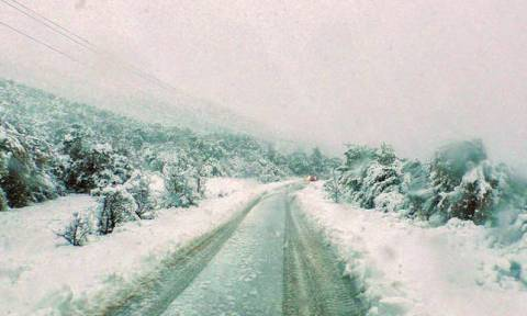 Weather service warns: Storm front and snow expected in Greece from Wednesday (27/12)