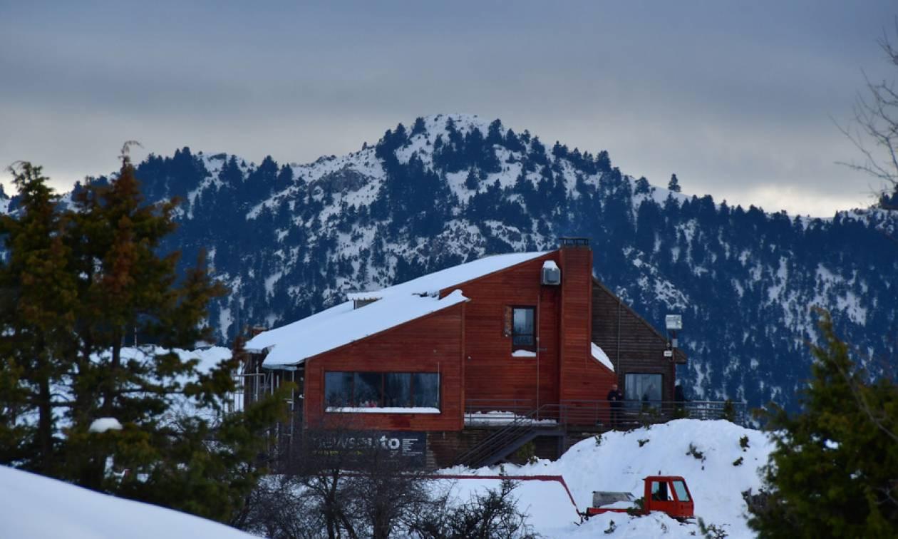 Το χιονοδρομικό κέντρο του Μαίναλου άνοιξε και σας περιμένει! (pics)