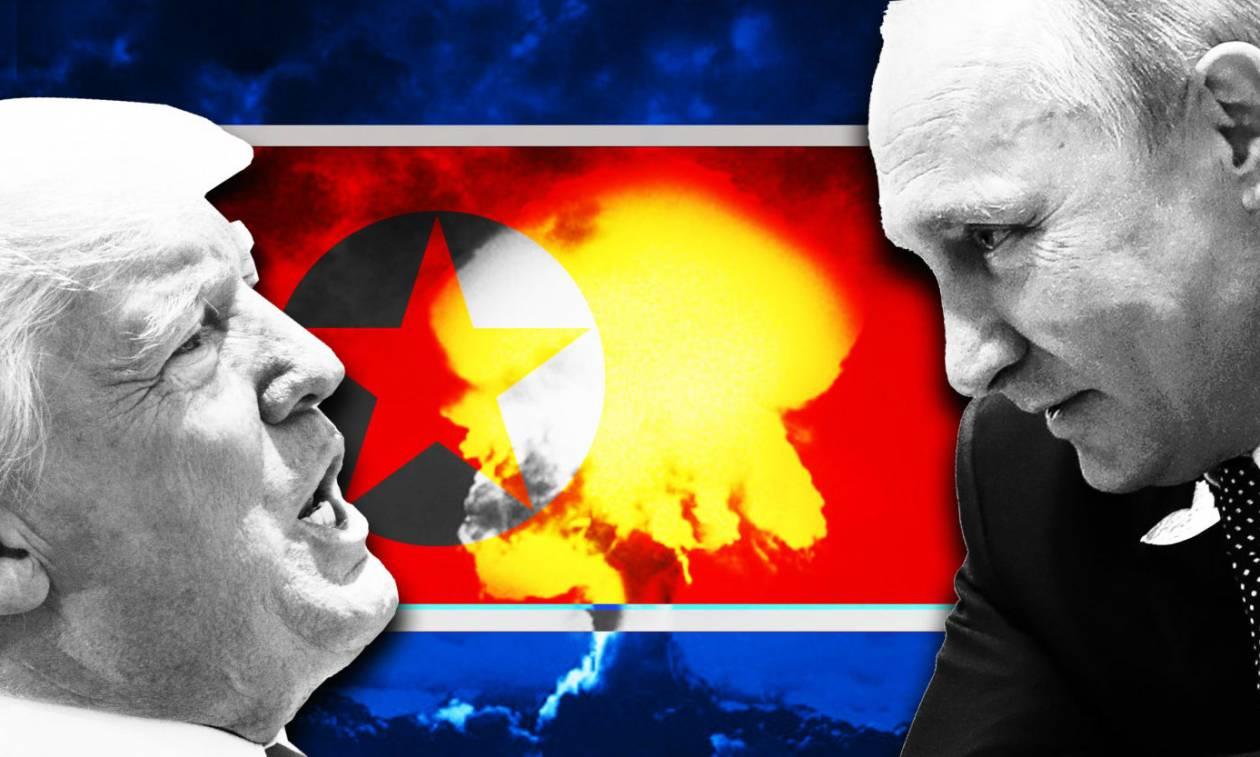 Έτοιμη να παρέμβει η Ρωσία για την αποτροπή πολέμου των ΗΠΑ με τη Βόρεια Κορέα