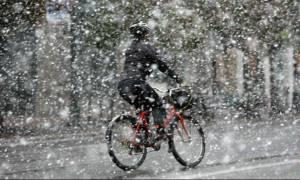 Καιρός - Έκτακτο δελτίο ΕΜΥ: Χιόνια, βροχές και καταιγίδες τις επόμενες ώρες