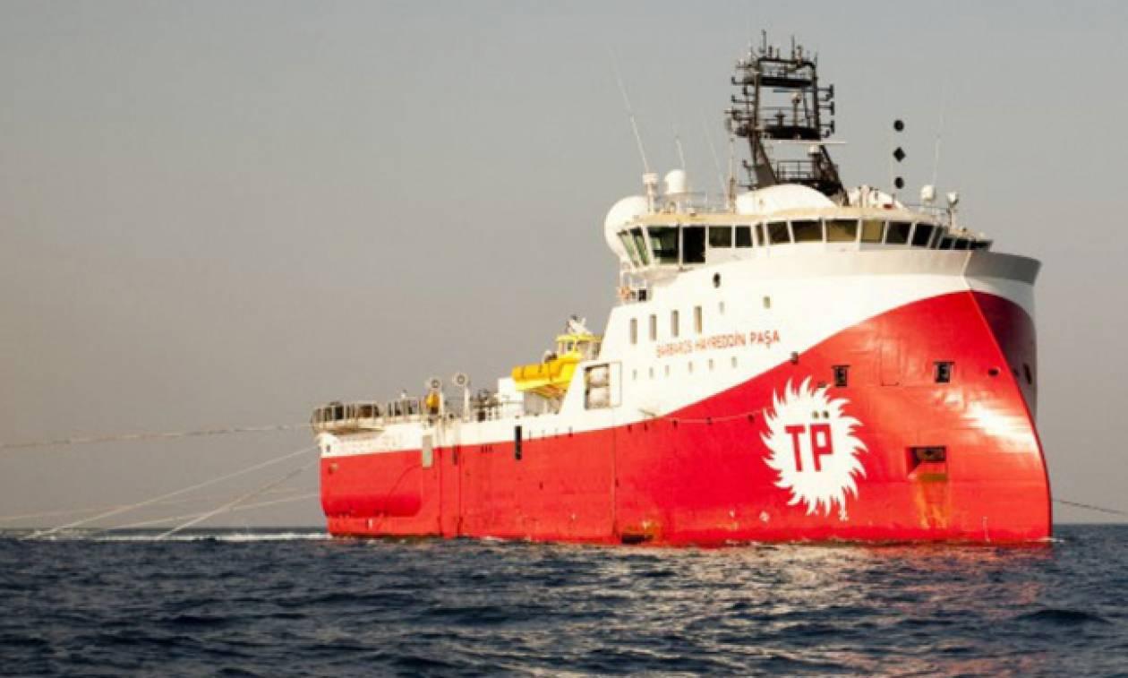 Συνεχίζει τις προκλήσεις η Τουρκία: Στέλνει το σεισμογραφικό πλοίο «Barbaros» στα ανοικτά της Κύπρου