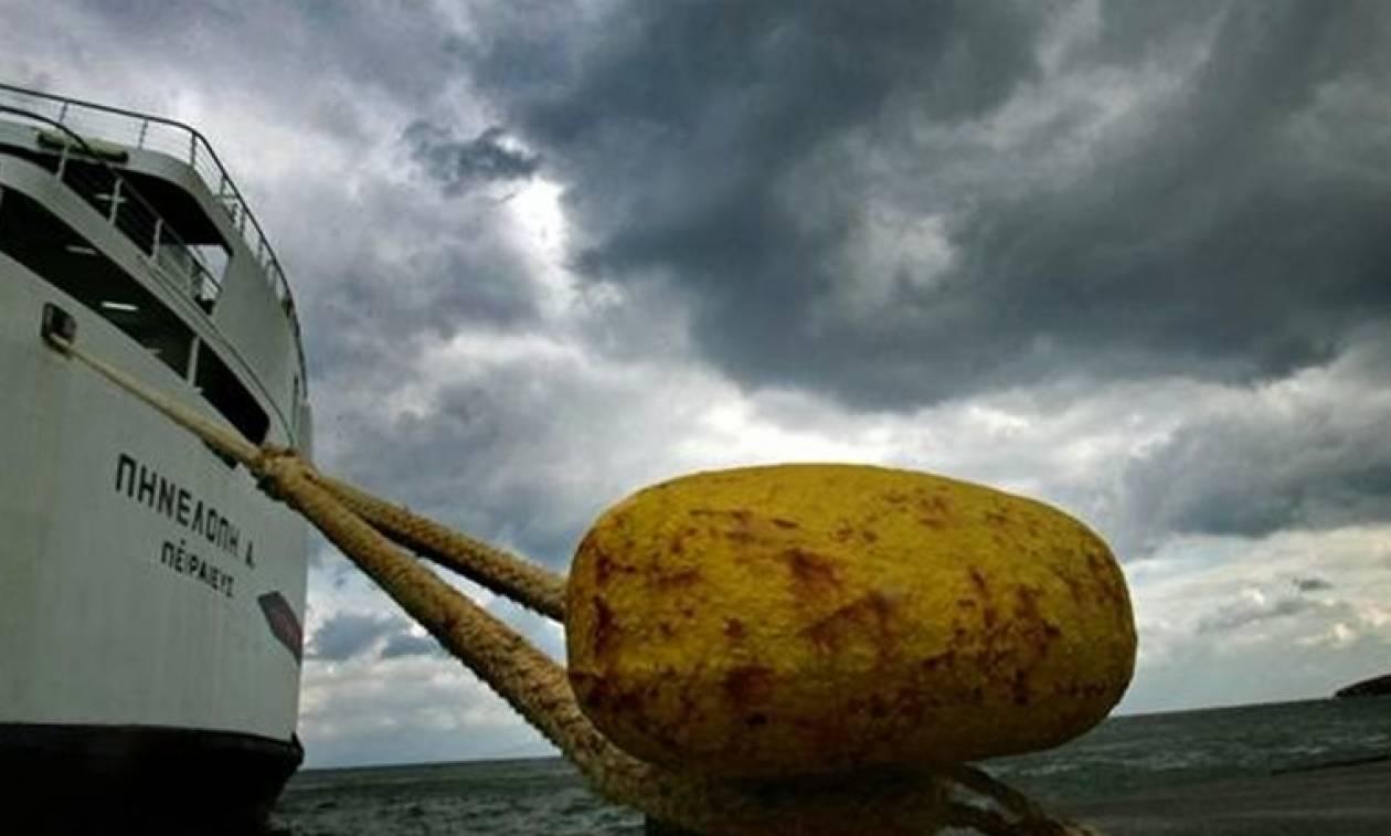 Καιρός: Προβλήματα στα λιμάνια λόγω των ισχυρών ανέμων
