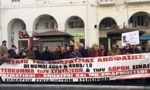 В Салониках состоится акция протеста пенсионеров