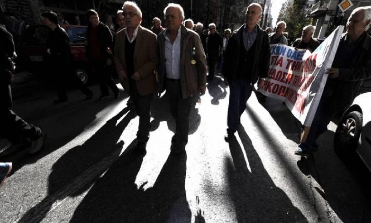 Νέα Θεσσαλονίκη: Συγκέντρωση διαμαρτυρίας των συνταξιούχων