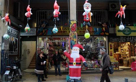 Christmas sales up 2.5 pct on average