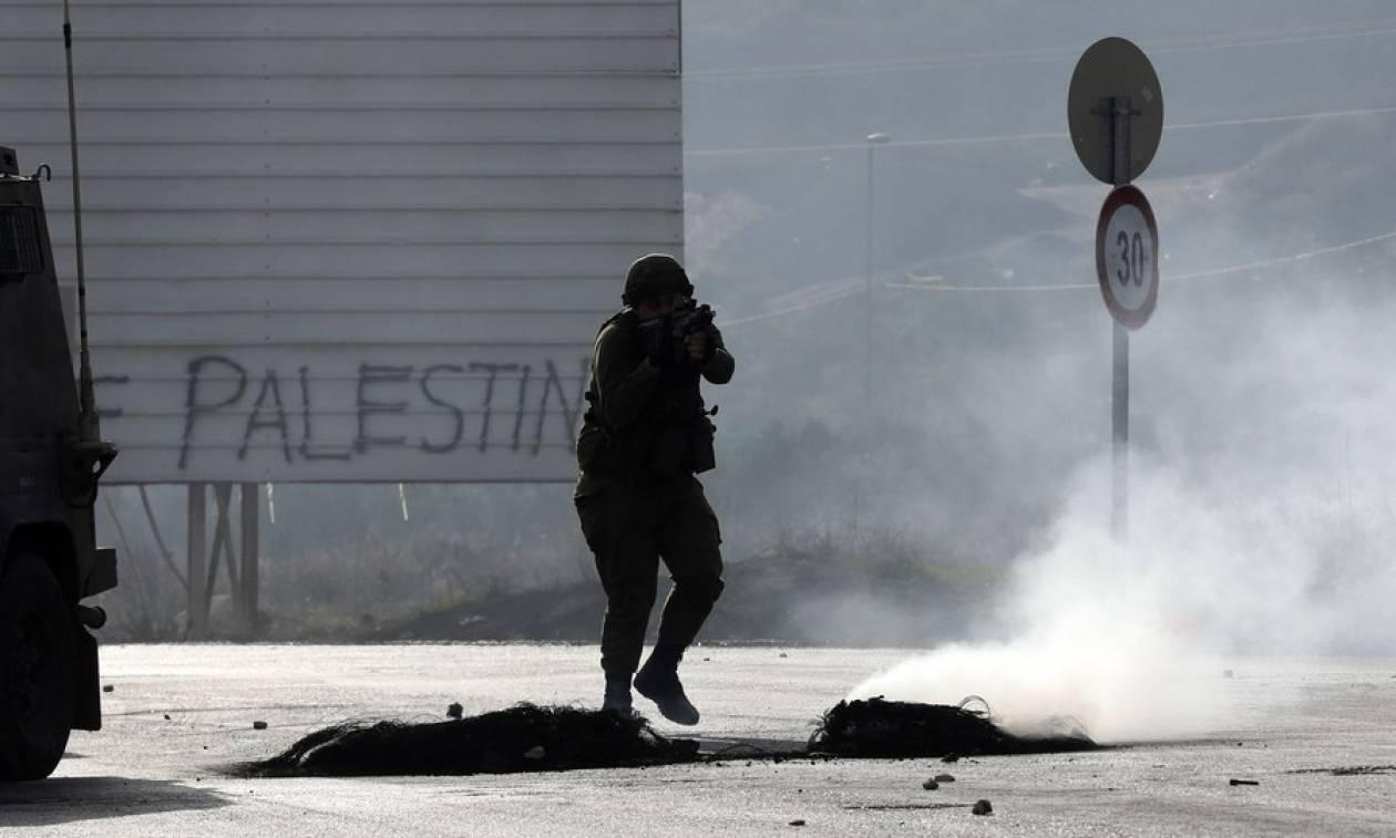 Βίαιες συγκρούσεις στη Λωρίδα της Γάζας (pics)
