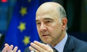 Μοσκοβισί: Στα τέλη του 2018 η Ελλάδα δεν θα βρίσκεται σε πρόγραμμα