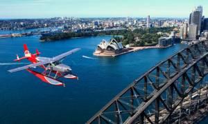Αεροπορική τραγωδία στην Αυστραλία: Βρετανοί τουρίστες οι νεκροί του υδροπλάνου στο Σίδνεϊ (Vids)