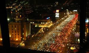 Ρωσία: Χάος στους δρόμους της Μόσχας - Τεράστιες ουρές αυτοκινήτων και μποτιλιάρισμα
