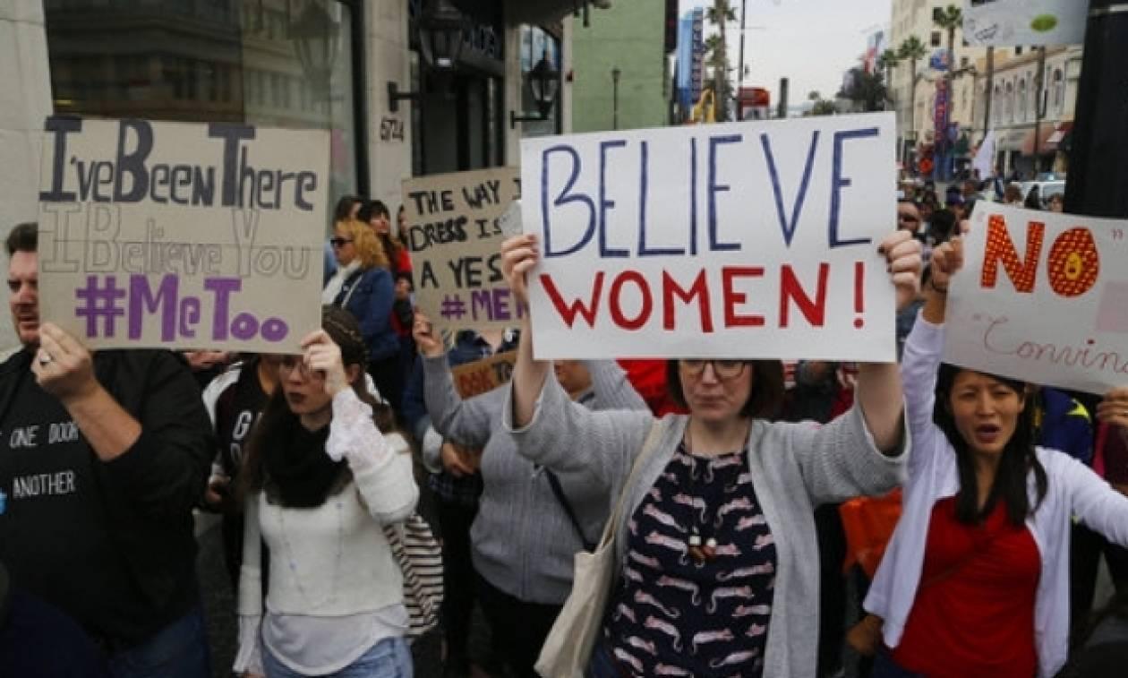 Time's Up: Αυτοί οι σταρ του Χόλιγουντ στηρίζουν τα θύματα σεξουαλικής κακοποίησης