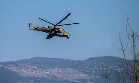 Вертолет Ми-24 разбился в Сирии из-за неисправности