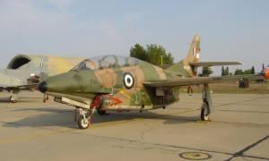 Η ανακοίνωση του ΓΕΑ για την πτώση του εκπαιδευτικού αεροσκάφους Τ-2