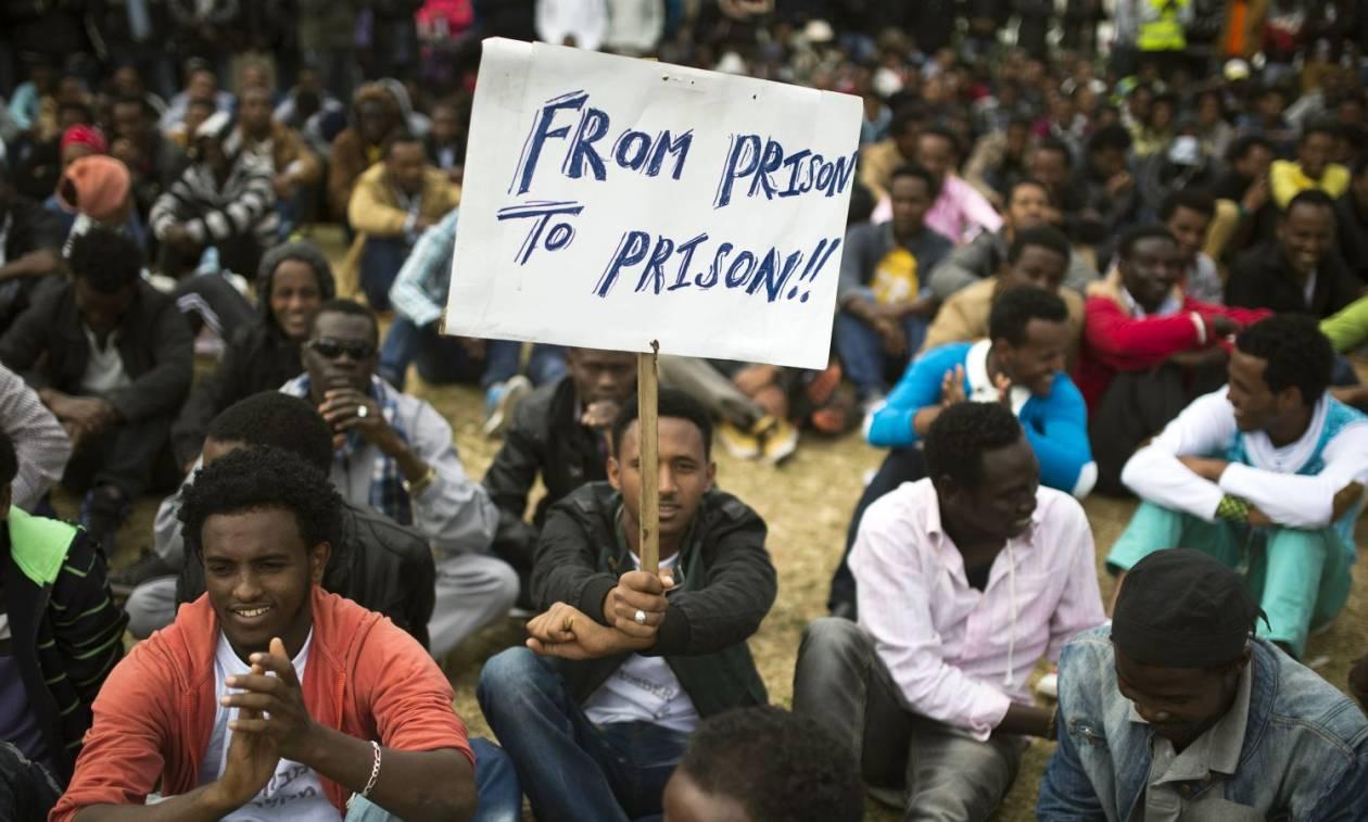 Ισραήλ: Απέλαση ή φυλάκιση για δεκάδες χιλιάδες μετανάστες (Vid)