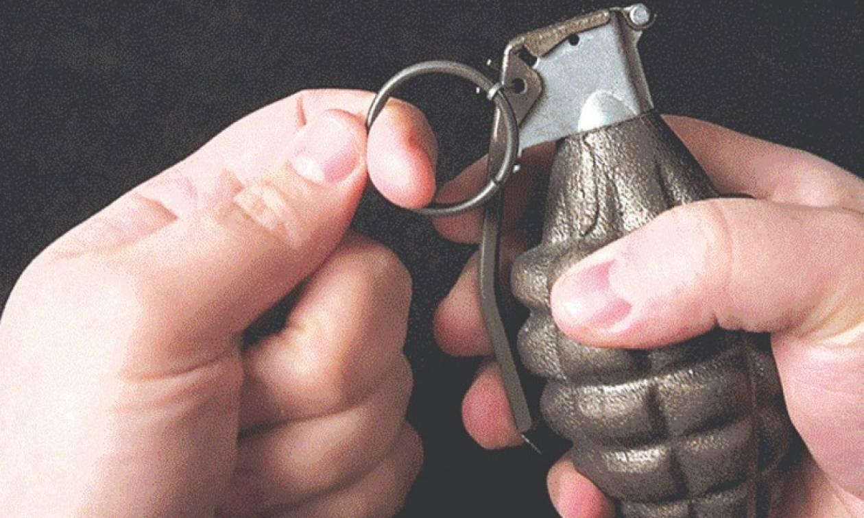 Ωραιόκαστρο: Εντοπίστηκε χειροβομβίδα στην αυλή ξενοδοχείου