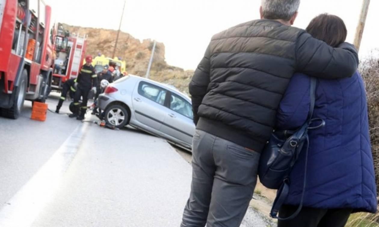 Μαζί στη ζωή, μαζί και στο θάνατο - Θρήνος για την οικογενειακή τραγωδία στην Κρήτη (pics+vid)