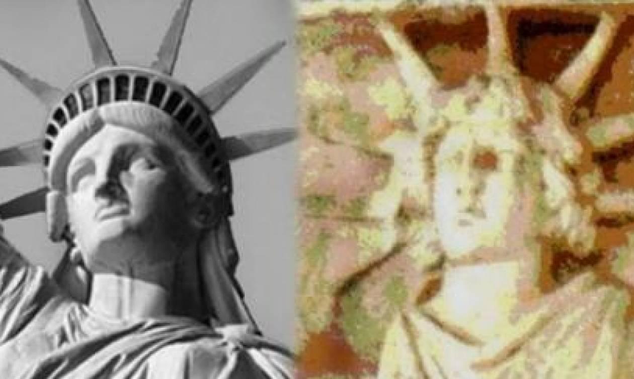 Γνωρίζεις ποια μορφή απεικονίζεται στο Αγαλμα της Ελευθερίας;
