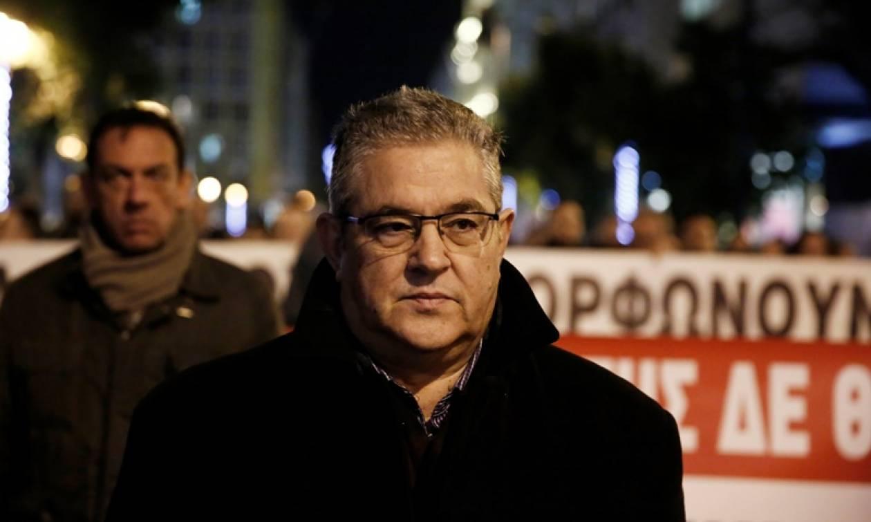 Κουτσούμπας: Το πραγματικό πρόβλημα με τα Σκόπια βρίσκεται στον αλυτρωτισμό
