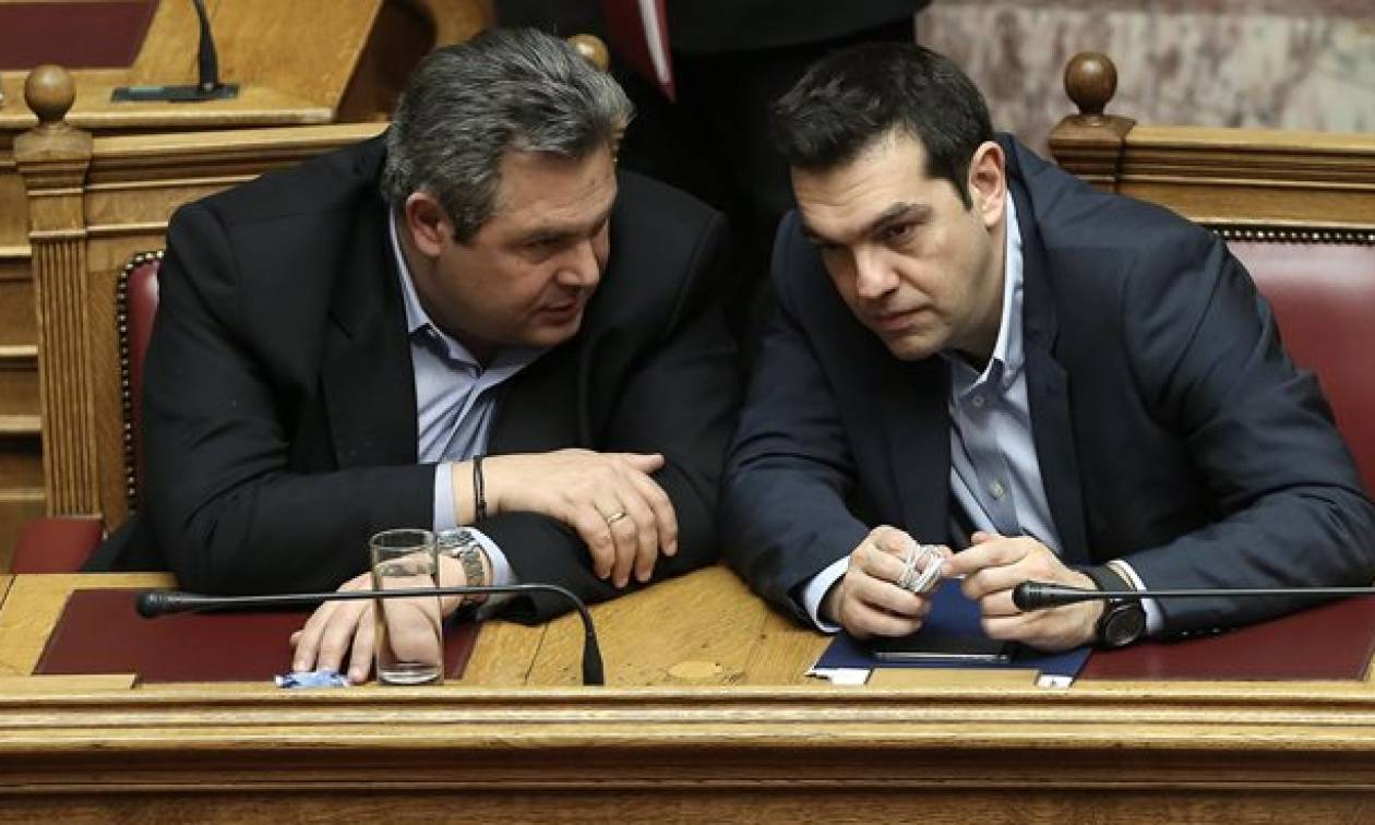 Αποκλειστικό: Μυστική συνάντηση Τσίπρα-Καμμένου για το Σκοπιανό λίγες ώρες πριν το «μίνι υπουργικό»