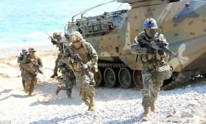 Γιατί αναβλήθηκαν τα κοινά στρατιωτικά γυμνάσια ΗΠΑ-Νότιας Κορέας