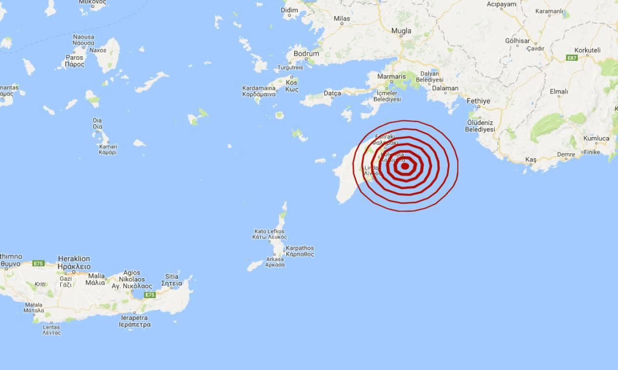 Σεισμός στη Ρόδο (pics)