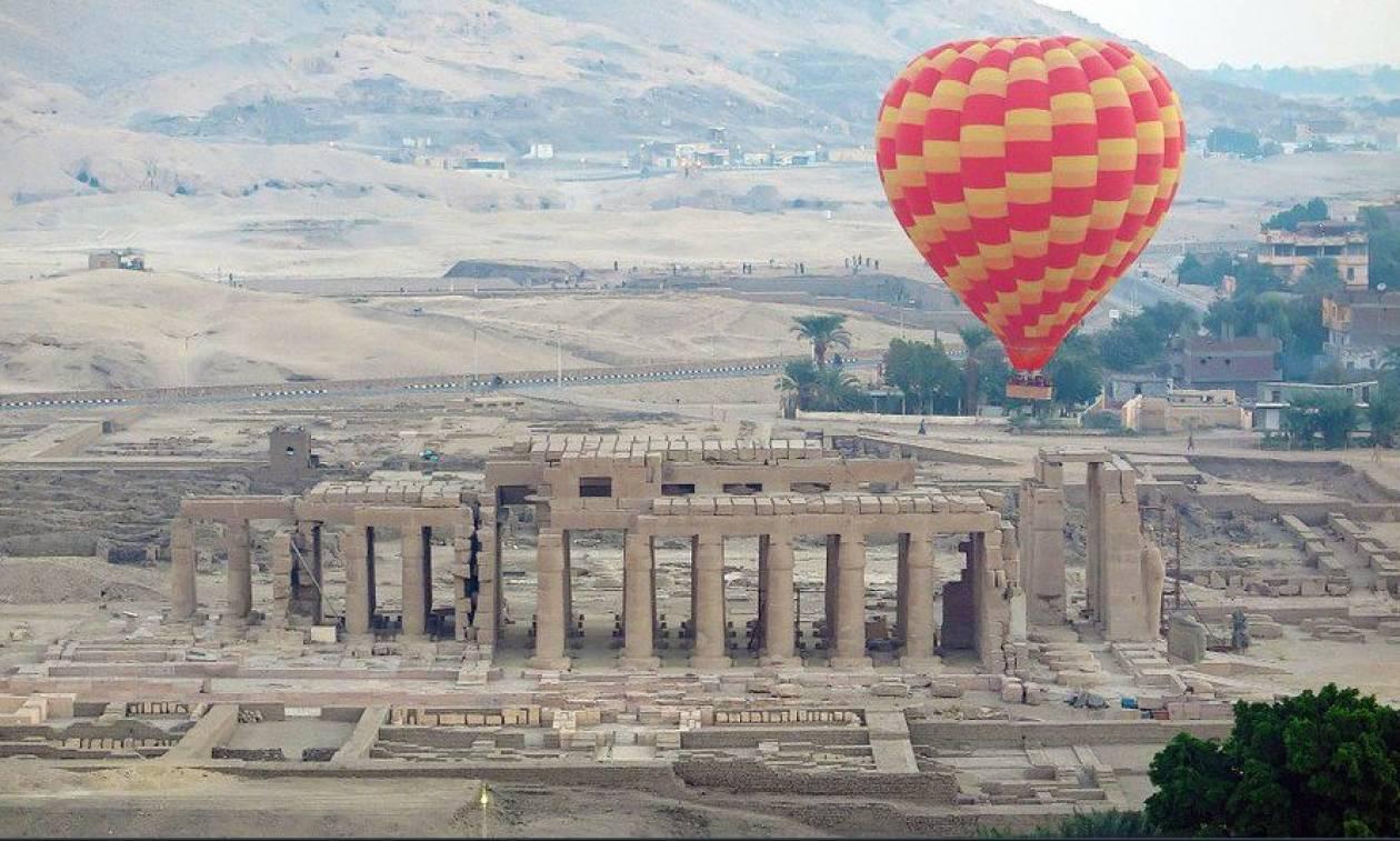 Αίγυπτος: Συντριβή αερόστατου με 20 επιβάτες – Ένας νεκρός