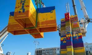 ΣΥΓΚΙΝΗΣΗ: Έχτισαν πύργο από LEGO για ένα παιδάκι που πέθανε από καρκίνο...