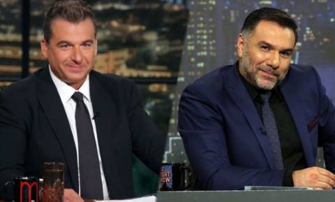 Λιάγκας και Αρναούτογλου κόβονται μαζί από την Late Night ζώνη. Δείτε το γιατί…