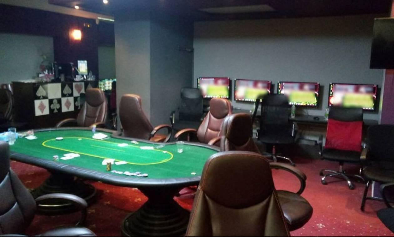 Συλλήψεις για παράνομο καζίνο στη Θεσσαλονίκη
