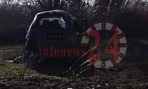 Σοκάρουν οι φωτογραφίες από το τραγικό δυστύχημα στις Σέρρες
