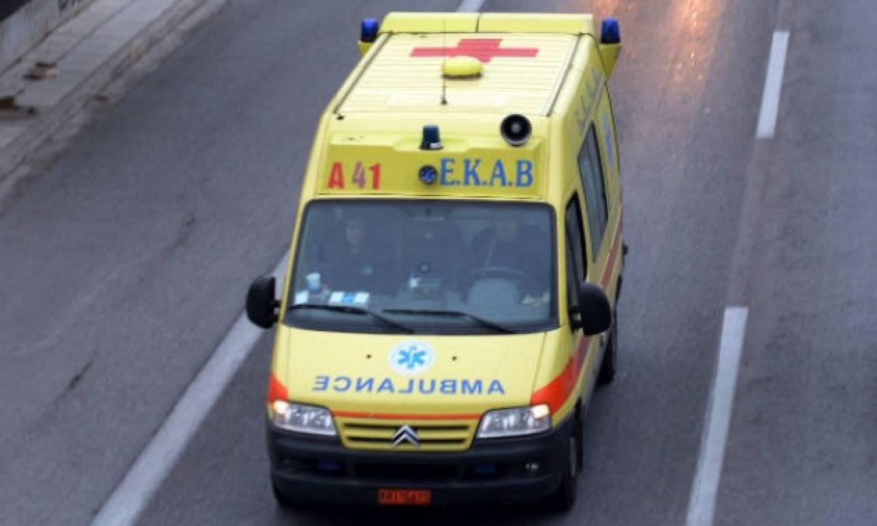 Τροχαίο με τραυματισμό στα Τρίκαλα