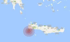 Σεισμός νότια των Χανίων (pics)
