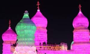 Χαρμπίν, μια πόλη φτιαγμένη από... πάγο στην Κίνα (pics&vid)