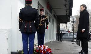 Τρία χρόνια μετά την τρομοκρατική επίθεση η Γαλλία τιμά τα θύματα του Charlie Hebdo (pics)