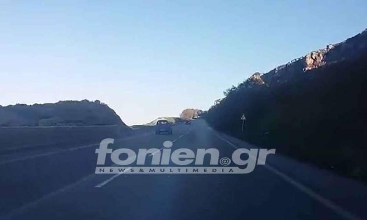 Βίντεο που κόβει την ανάσα: Τρόμος στην Κρήτη - Μεθυσμένος οδηγός κάνει οχτάρια στον ΒΟΑΚ