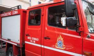 Φωτιά στα Προσφυγικά της Λεωφόρου Αλεξάνδρας