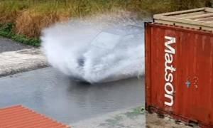 Κρήτη: Ποτάμια οι δρόμοι από την σφοδρή βροχόπτωση στις Τρεις Βαγιές (video)