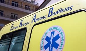 Γιαννιτσά: Τροχαίο ατύχημα με 22χρονο – Εγκλωβίστηκε στο αυτοκίνητό του