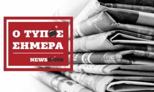 Athens Newspapers Headlines (08/01/2018)