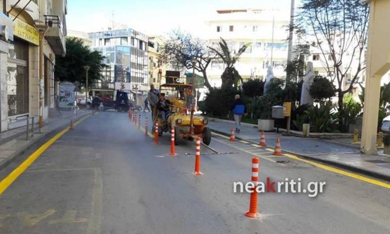 Νέα Κρήτη: Μπάχαλο με τις νέες κυκλοφοριακές ρυθμίσεις