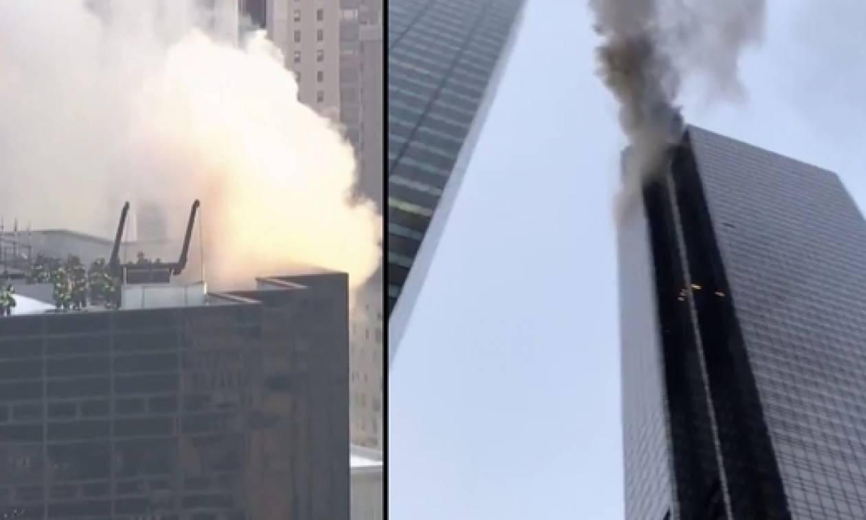 Φωτιά: Στις φλόγες ο «Πύργος Τραμπ» στη Νέα Υόρκη - Τουλάχιστον δύο τραυματίες (Pics + Vids)