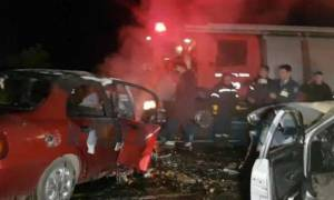 Φρικτό δυστύχημα στη Σπάρτη: Δύο νεκροί μετά από σφοδρή μετωπική σύγκρουση (pics&vid)