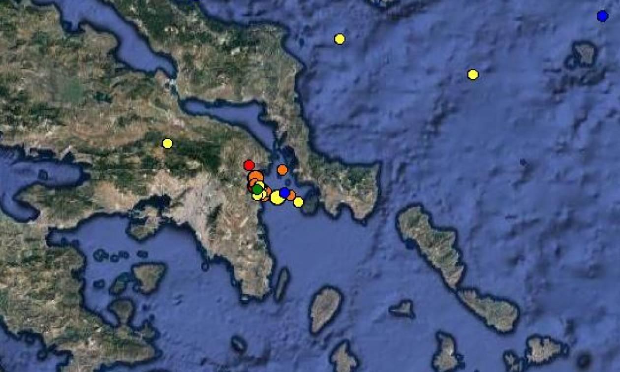Σεισμός στην Αττική – Τι λένε οι επιστήμονες για το «σμήνος σεισμών»