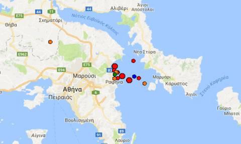 Series of minor tremors recorded along eastern Attica coast