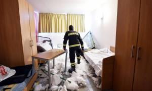 Μια γυναίκα το πρώτο θύμα της σφοδρής χιονόπτωσης που «γονάτισε» την Ιταλία (Pics+Vids)