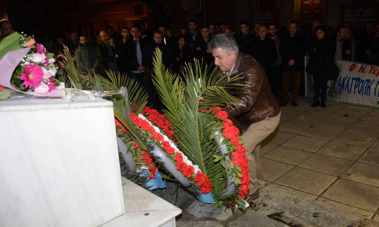Πάτρα: Εκδηλώσεις μνήμης για τα 27 χρόνια από τη δολοφονία του καθηγητή Νίκου Τεμπονέρα