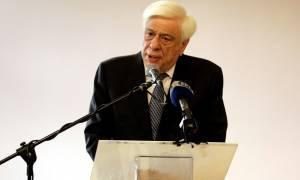 Παυλόπουλος: Το πνεύμα της Ειρήνης το έχουμε ανάγκη περισσότερο παρά ποτέ