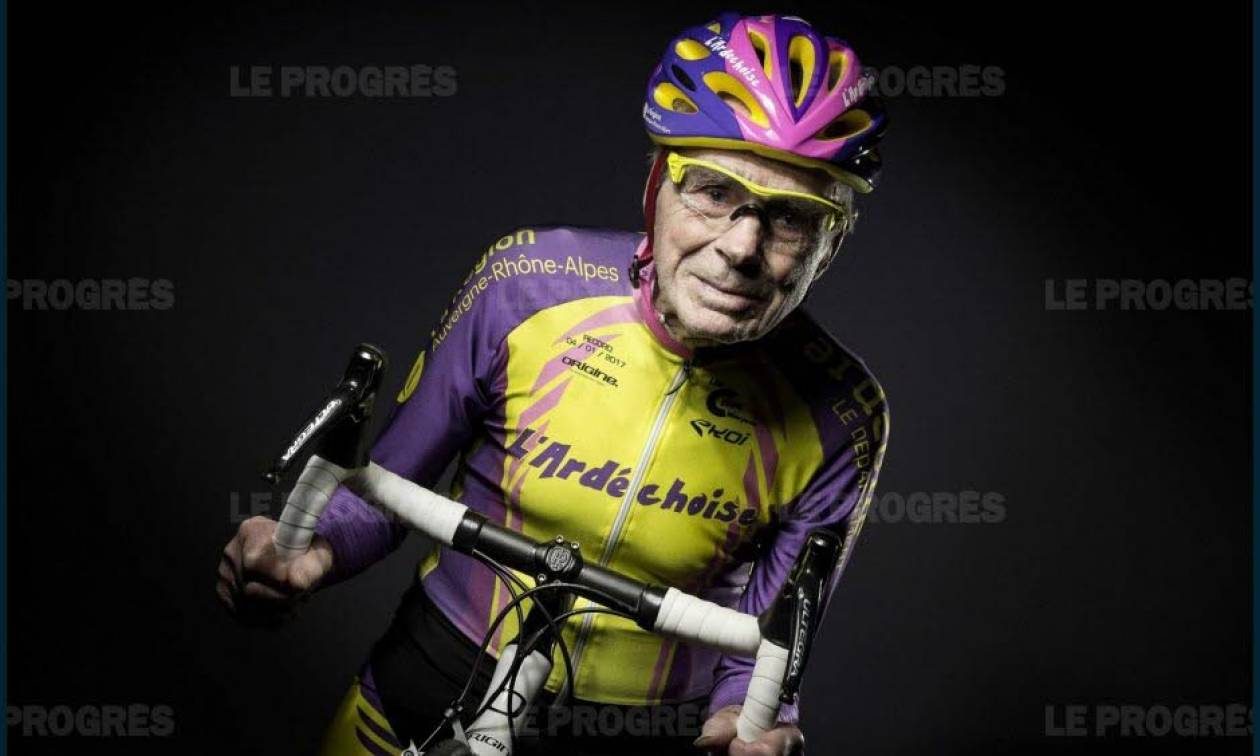 Η παράξενη είδηση της ημέρας: Αποσύρεται σε ηλικία… 106 ετών ο ποδηλάτης-θρύλος Ρομπέρ Μαρσάν