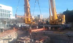 Ανάληψη ευθύνης για τις μολότοφ σε εργοτάξιο του μετρό στη Θεσσαλονίκη